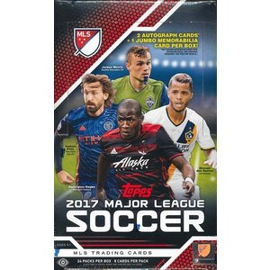 2017 TOPPS MLS(MAJOR LEAGUE SOCCER) BOX|niki