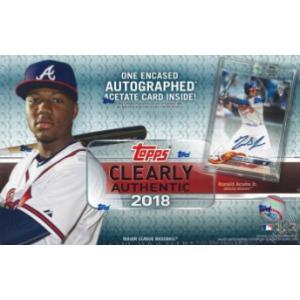 MLB 2018 TOPPS CLEARLY AUTHENTIC BASEBALL BOX|niki