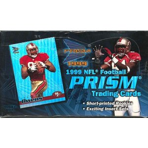NFL 1999 PACIFIC PRISM FOOTBALL HOBBY BOX|niki
