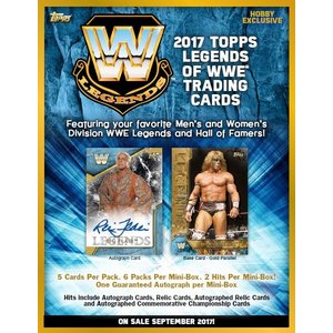 2017 TOPPS LEGENDS OF WWE BOX (送料無料)|niki