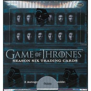 2017 RITTENHOUSE GAME OF THRONES SEASON 6 TRADING CARDS BOX|niki