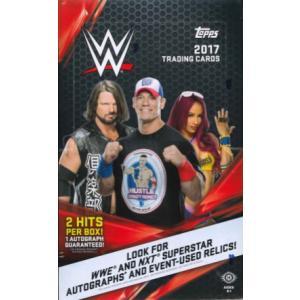 2017 TOPPS WWE TRADING CARDS BOX|niki