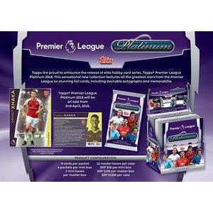 2017/18 TOPPS PREMIER LEAGUE PLATINUM BOX|niki