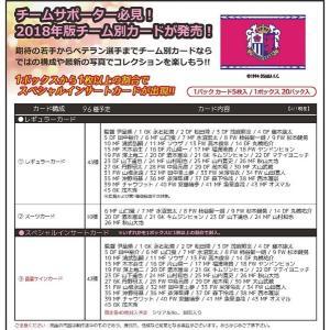 2018 Jリーグ カード チームエディション・メモラビリア セレッソ大阪 BOX(送料無料)|niki