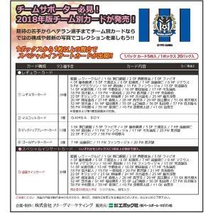 (予約)2018 Jリーグ カード チームエディション・メモラビリア ガンバ大阪 BOX(送料無料)(8月15日発売)|niki