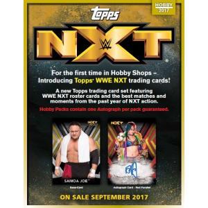 ■セール■2017 TOPPS WWE NXT BOX (送料無料)|niki