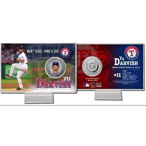 DARVISH YU ダルビッシュ MLBデビュー記念 シルバーコイン・カード|niki