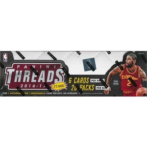 ■セール■NBA 2016/2017 PANINI THREADS BASKETBALL BOX|niki