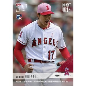 2018 TOPPS MOMENT OF THE WEEK 6-WINNER- #MOW06 大谷翔平|niki