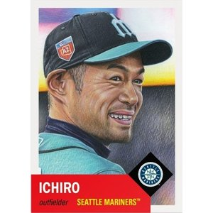 2018 TOPPS LIVING SET CARD #25 イチロー|niki