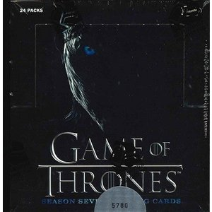 RITTENHOUSE GAME OF THRONES SEASON 7 TRADING CARDS BOX|niki