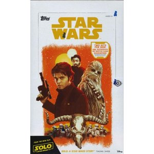 ■セール■2018 TOPPS SOLO : A STAR WARS STORY TRADING CARDS BOX(送料無料)|niki