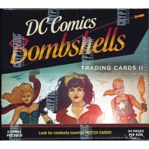 2018 CRYPTOZOIC DC BOMBSHELLS CARD 2 BOX|niki