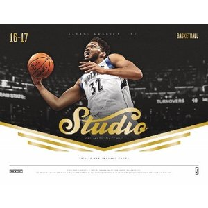 ■セール■NBA 2016/2017 PANINI STUDIO BASKETBALL BOX|niki