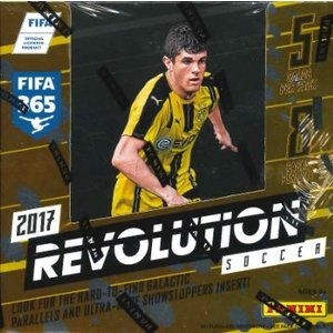 2017 PANINI REVOLUTION SOCCER BOX|niki