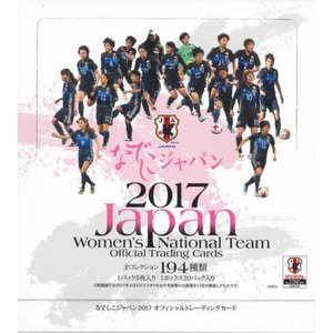 ■セール■なでしこジャパン 2017 オフィシャルトレーディングカード BOX(送料無料)|niki