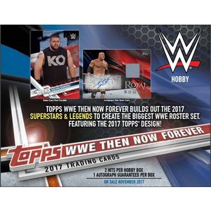 2017 TOPPS WWE:THEN NOW FOREVER BOX|niki
