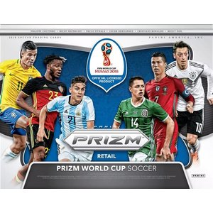 ■セール■2018 PANINI PRIZM FIFA WORLD CUP SOCCER FAT PACK BOX(送料無料)|niki