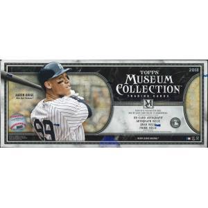 MLB 2018 TOPPS MUSEUM COLLECTION BASEBALL BOX niki