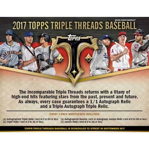 MLB 2017 TOPPS TRIPLE THREADS BASEBALL BOX 送料無料|niki