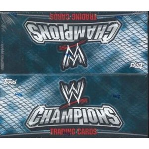 WWE 2011 TOPPS CHAMPIONS BOX|niki