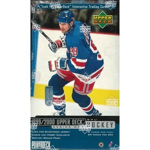 NHL 1999/2000 UPPER DECK SERIES ONE  HOCKEY HOBBY BOX|niki