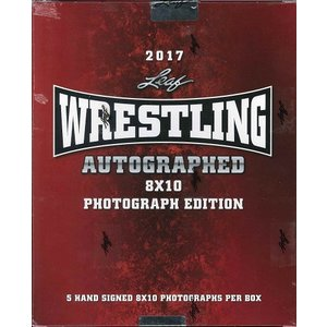 2017 LEAF WRESTLING SIGNED 8X10 PHOTOGRAPH EDITION|niki