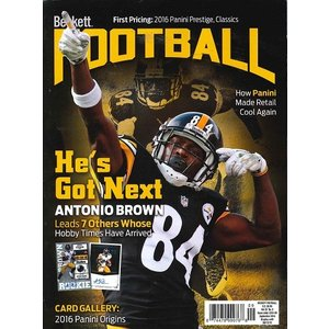 BECKETT FOOTBALL #308 SEPTEMBER 2016 送料無料|niki