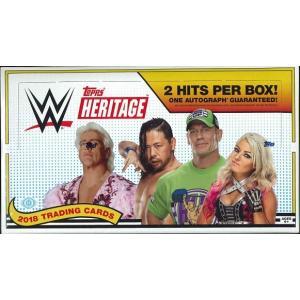 2018 TOPPS WWE HERITAGE BOX(送料無料)|niki