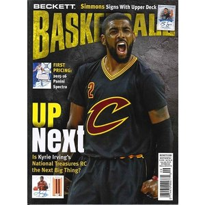 BECKETT BASKETBALL #288 SEPTEMBER 2016 送料無料|niki