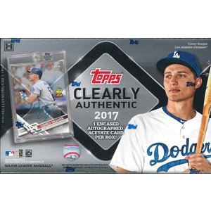 MLB 2017 TOPPS CLEARLY AUTHENTIC BASEBALL|niki