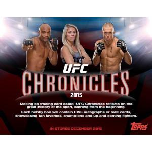 2015 TOPPS UFC CHRONICLES BOX(送料無料)|niki
