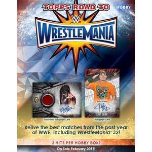 2017 TOPPS WWE ROAD TO WRESTLEMANIA BOX|niki