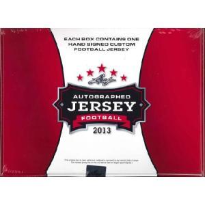2013 LEAF AUTOGRAPHED FOOTBALL JERSEY EDITION|niki