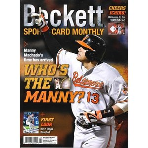 BECKETT SPORTS CARD MONTHLY #379 OCTOBER 2016|niki
