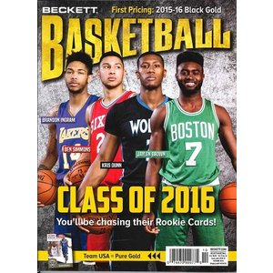 BECKETT BASKETBALL #289 OCTOBER 2016|niki