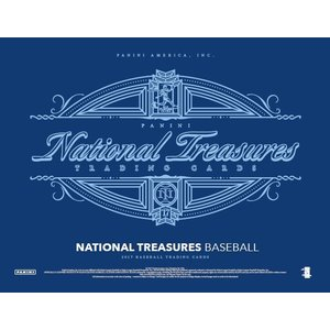 2017 NATIONAL TREASURES BASEBALL|niki