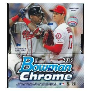 MLB 2018 BOWMAN CHROME BASEBALL HOBBY BOX|niki