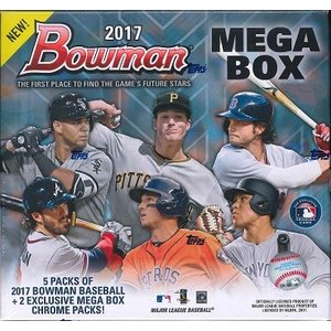 MLB 2017 BOWMAN MEGA BOX CHROME BASEBALL BOX|niki