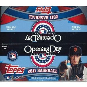 MLB 2011 TOPPS OPENING DAY BASEBALL BOX|niki