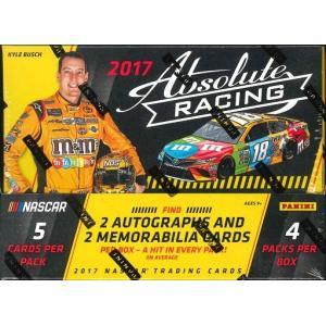 2017 ABSOLUTE NASCAR RACING BOX|niki