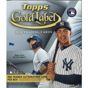 MLB 2018 TOPPS GOLD LABEL BASEBALL BOX(送料無料)|niki