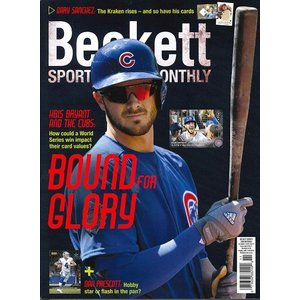 BECKETT SPORTS CARD MONTHLY #380 NOVEMBER 2016|niki