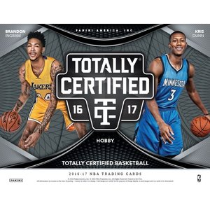NBA 2016/2017 TOTALLY CERTIFIED BASKETBALL BOX|niki