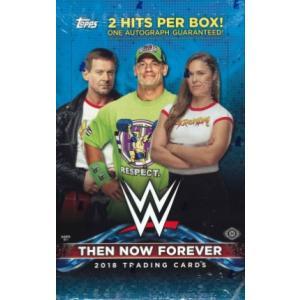 2018 TOPPS WWE:THEN NOW FOREVER BOX (送料無料)|niki