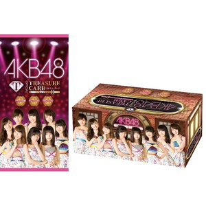 AKB48 official TREASURE CARD Series2 BOX|niki
