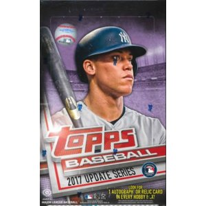 MLB 2017 TOPPS UPDATE HOBBY BOX|niki