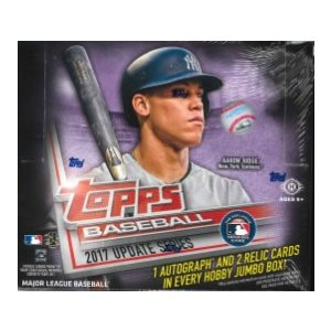 MLB 2017 TOPPS UPDATE JUMBO BOX|niki