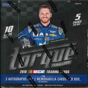 2016 PANINI TORQUE NASCAR RACING BOX (送料無料)|niki