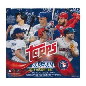 MLB 2018 TOPPS HOLIDAY MEGA BOX|niki